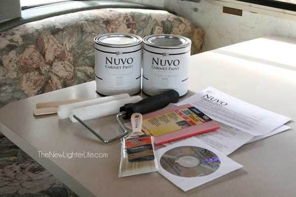 How to Paint RV Cabinets ~ Without Sanding or Primer
