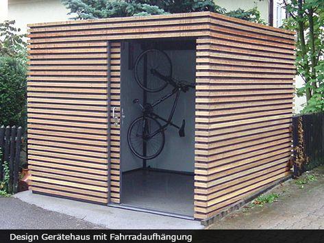 Gerätehäuser/ Design Gartenhäuser, FMH Metallbau und Holzbau, Stuttgart / Fellbach