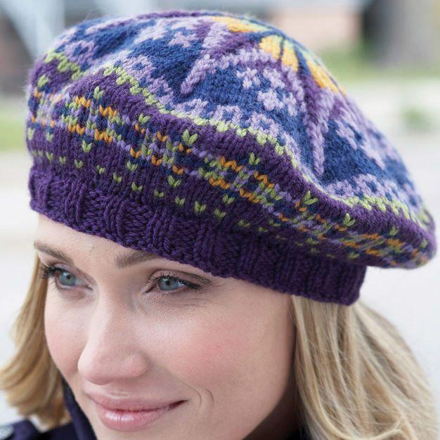 Patons Fair Isle Tam | Knitting, Fair isle knitting ...