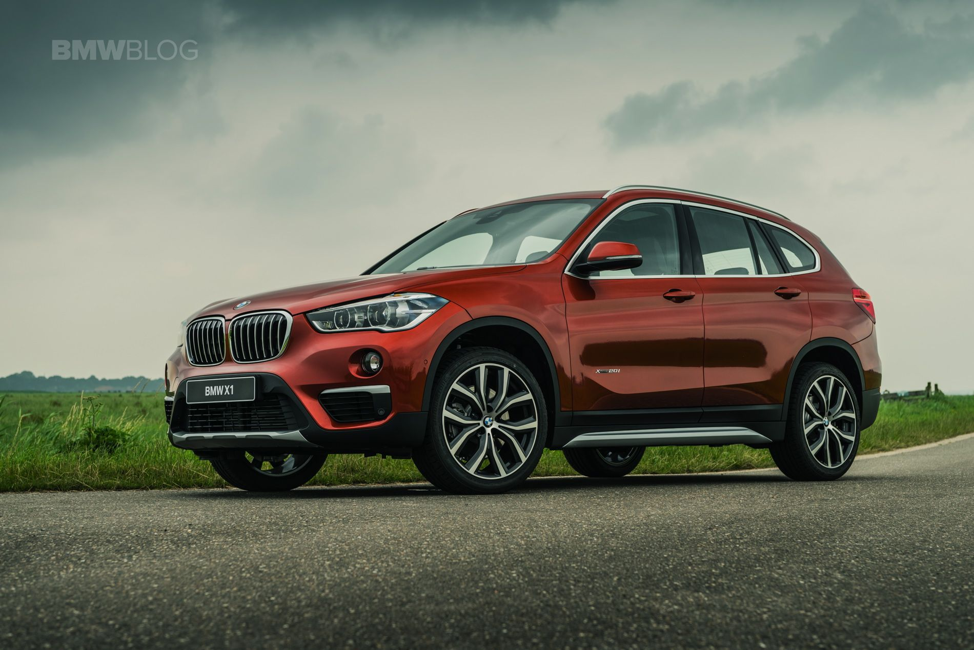 2017 Bmw X1 Orange Edition Special Model In The Netherlands Bmw