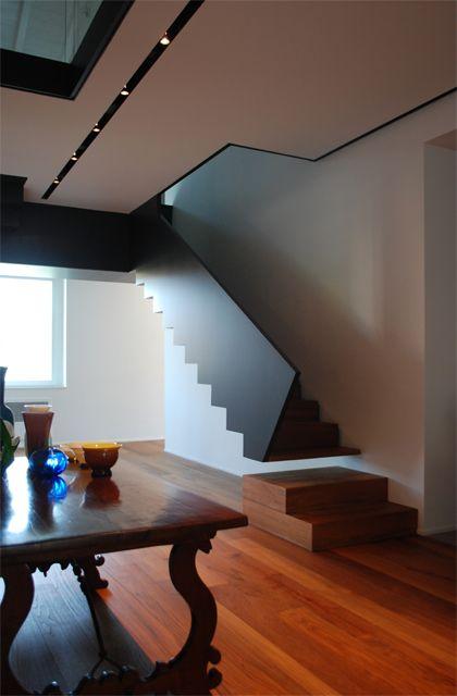 edifici sul fiume oglio Progettazione scale Pinterest Escalera - diseo de escaleras interiores