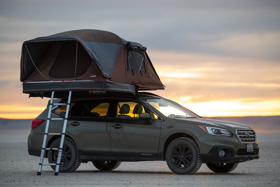 Gear News Ikamper Unveils Its Newest Hard Shell Soft Shell Coverless Rooftop Tent Roof Top Tent Roof Tent Tent