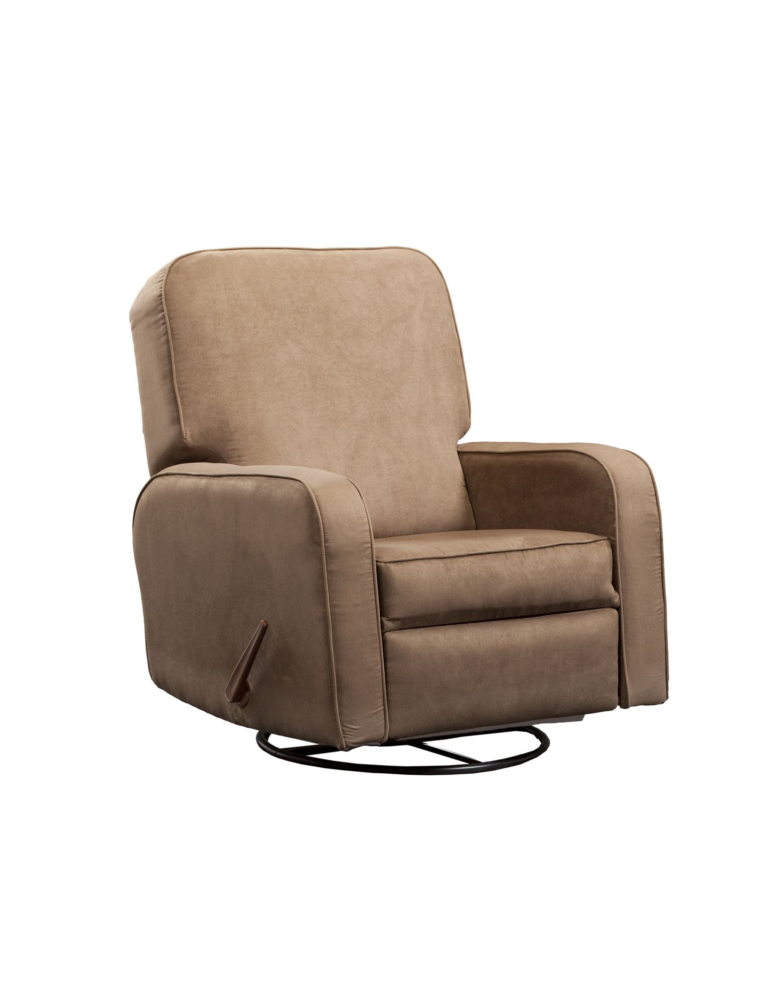 Upholstered Glider Lever Actuated Recliner Products