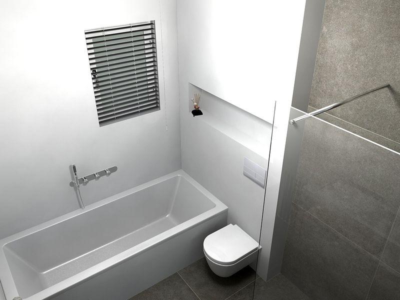 Ideeën badkamer bad en douche | Badkamers | Pinterest | Interiors