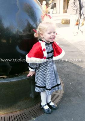 Coolest Cindy Lou Who Costume  sc 1 st  Pinterest & Coolest Cindy Lou Who Costume | Costumes Halloween costumes and ...