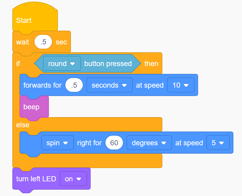 EdScratch is a vertical block-based visual programming