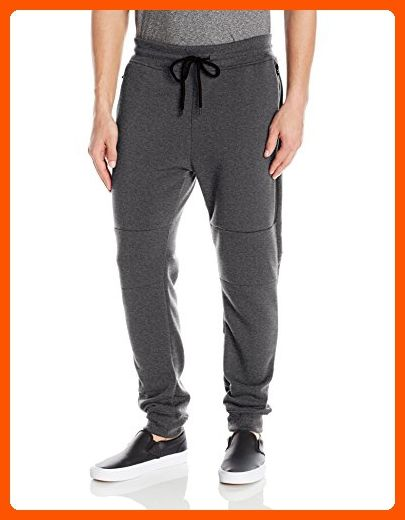 SOUTHPOLE BLACK FLEECE ZIPPERED JOGGERSJOGGER PANTS SWEATPANTS