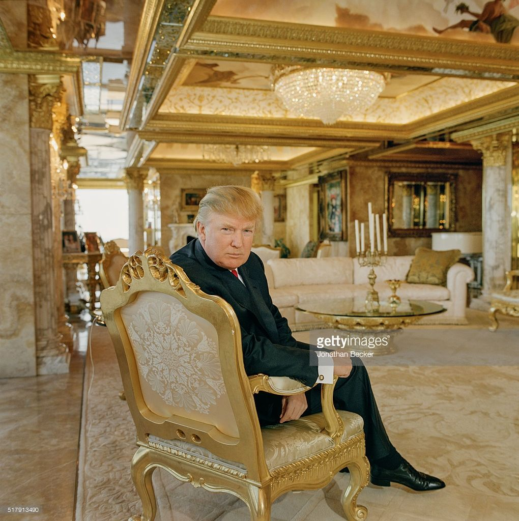 Real Estate Developer Donald Trump Is Photographed For