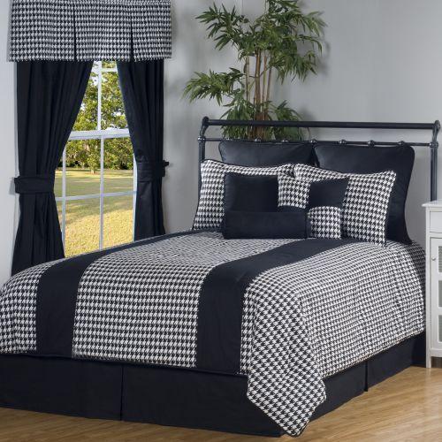Black & Checkered Bedding