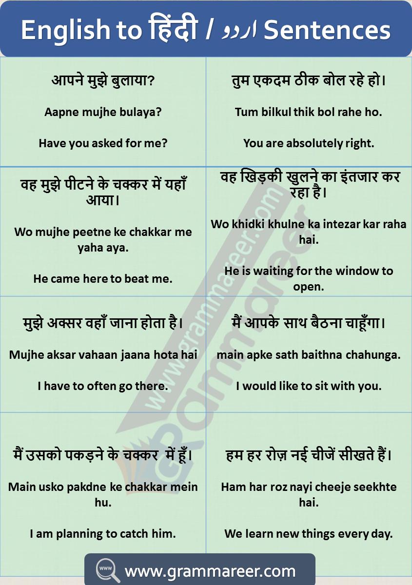 Hindi To English Sentences English Sentences English Learning Spoken English Speaking Book [ 1200 x 845 Pixel ]