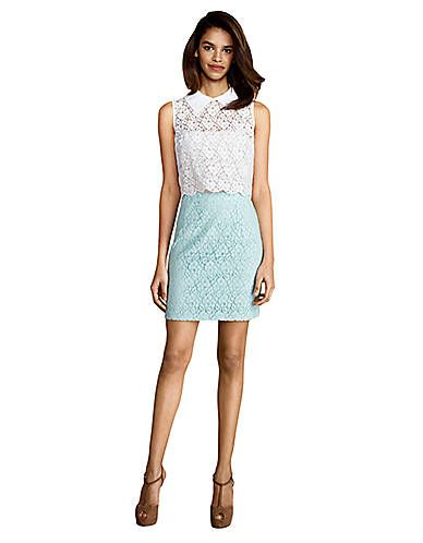 Sleeveless Mint And White Dress Lord And Taylor Things I Like