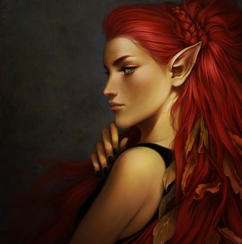 Red Haired Elf