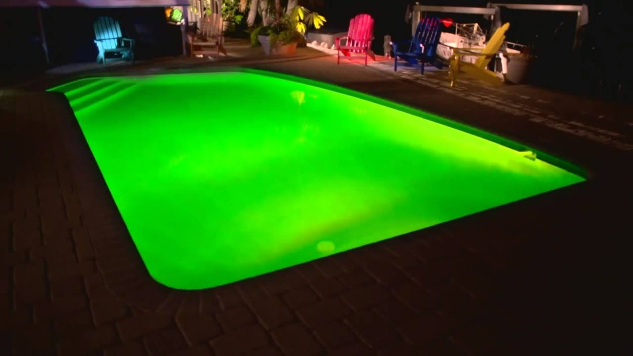 Hayward colorlogic led inground swimming pool kit light