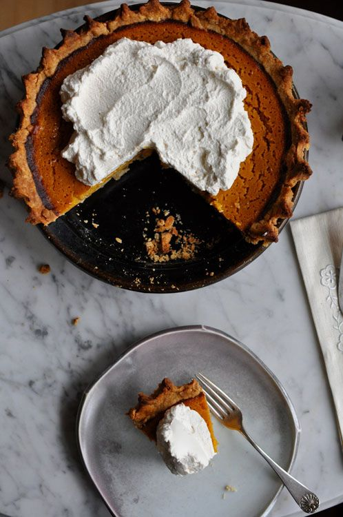 Buttermilk Pumpkin Pie With Bourbon Vanilla Whipped Cream Recipe Recipes With Whipping Cream Coconut Smoothie Recipe Pumpkin Pie Recipes