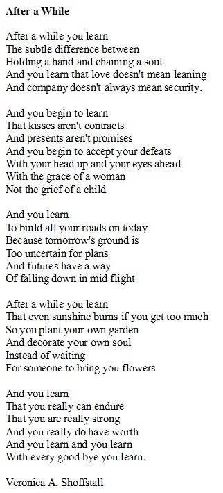 Self Worth Poems 6