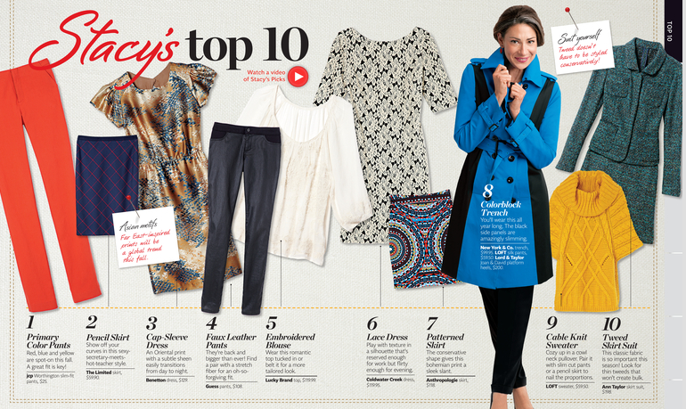 The Recessionista Blog Frugal Fashion Trends And News Stacy London 39 S Top 10 Style Picks For