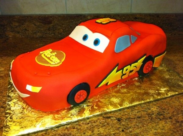 Easy Cars Cake Disney Cars Lightning McQueen Cake The Chocolate