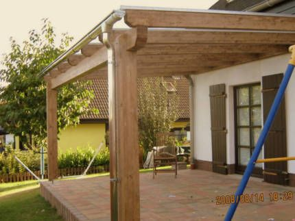 terrassen berdachung pergola terrassendach holz mit montage in nordrhein westfalen solingen. Black Bedroom Furniture Sets. Home Design Ideas