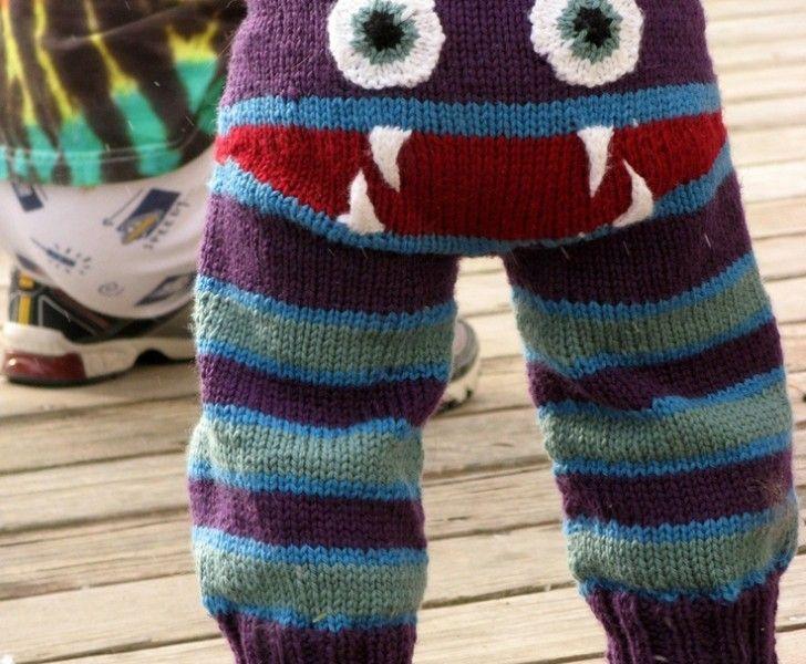 sticka byxor baby roligt inspiration tips gratis mönster  9002b44590d8b