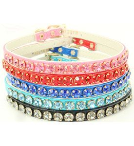Crystal Pet Collars- Bling Dog Collars, Rhinestone Pet Collars, Puppy Collar, Dog Bling Collars, Jew