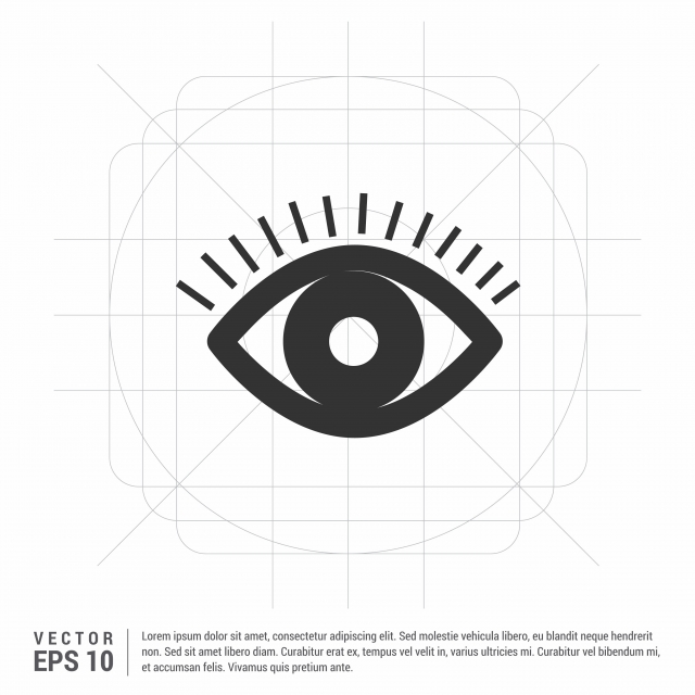 Eye Icon Eye Icons Vision Look Png And Vector With Transparent Background For Free Download Free Vector Illustration Icon Font Illustration