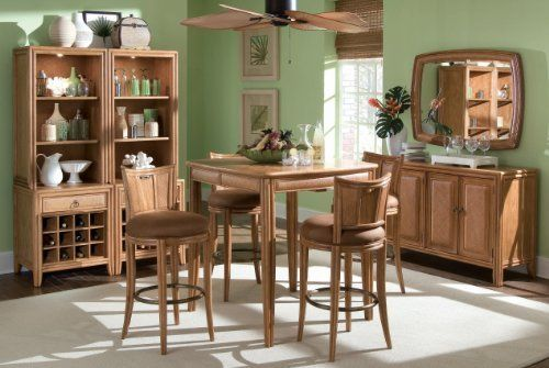 American Drew 931 706 Antigua Bar Height Pub Table Set By American Drew 840 00 The American Drew 931 706 Dining Room Furniture Dining Room Sets Home Decor
