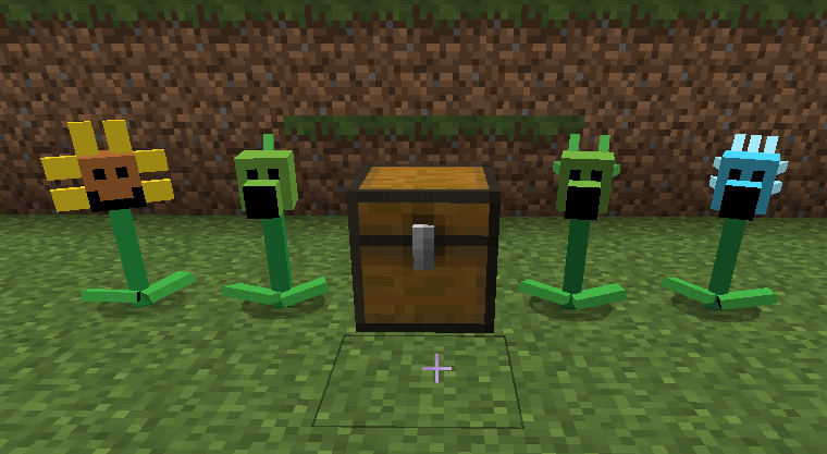 Plants vs zombies mod minecraft 1 5 2 1 5 1 videos - Minecraft zombie vs creeper ...