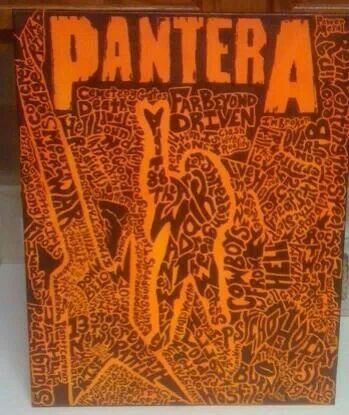 Some cool fan art I saw on the Pantera page.