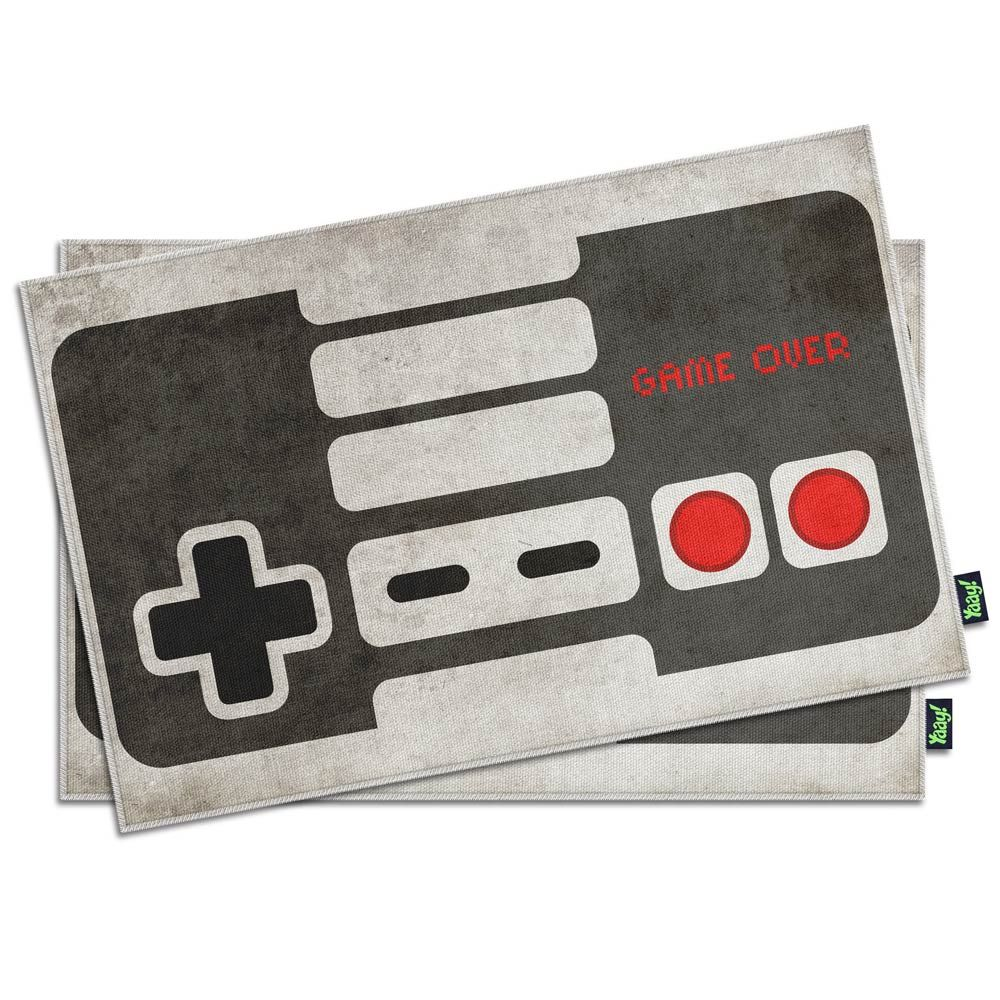 Jogo Americano Gamer Joystick Retrô - 2 peças :: Hmmm