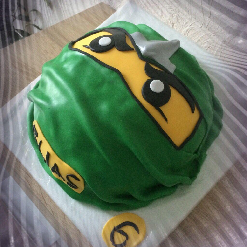 Motivtorte Cake Ninjago Lloyd Grun Green Motivtorte Fancy Cakes