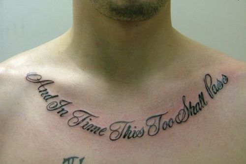 Men Design Good Tattoo Quotes ~ http://tattooeve.com/what-to-do-with-good-tattoos-quotes/ Tattoo Ideas