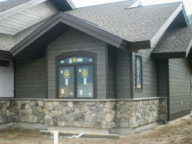 Black windows new home inspiration house paint - Exterior house colors with black trim ...