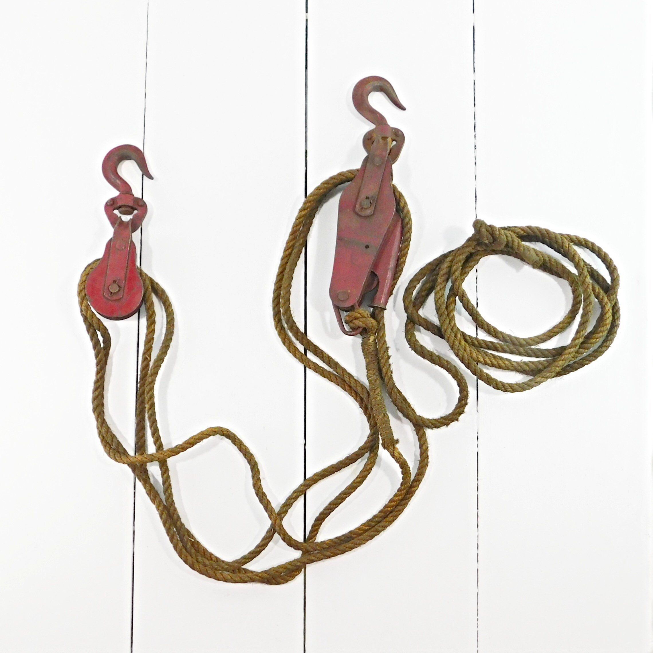 excited to share this item from my etsy shop vintage block tackle pulleys [ 2280 x 2280 Pixel ]