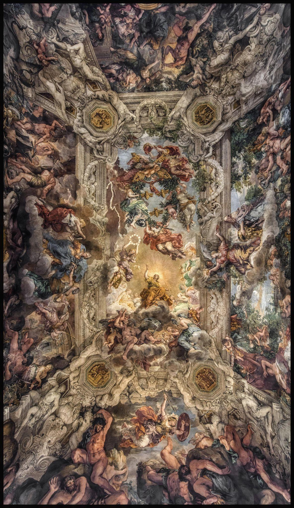 Il Trionfo Della Divina Provvidenza Rennaissance Art Renaissance Art Art Wallpaper