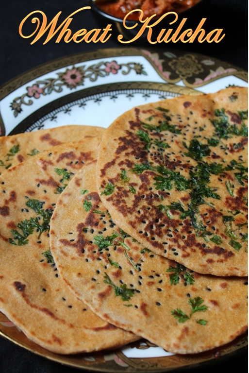 YUMMY TUMMY: Wheat Kulcha Recipe
