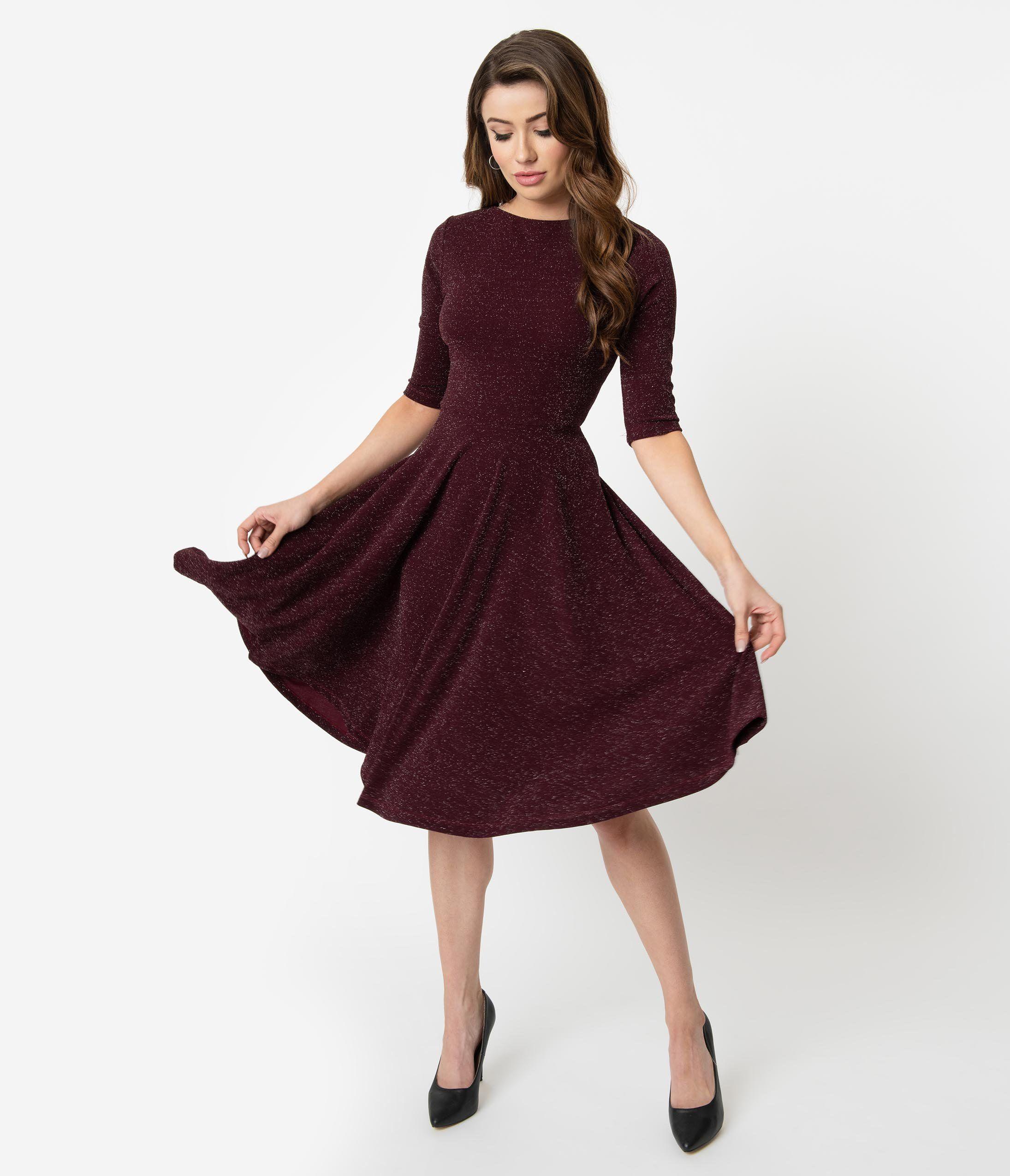 Unique Vintage 1950s Navy Blue Shirelle Swing Dress 1950s Swing Dress Swing Dress 1950s Fashion [ 2550 x 2190 Pixel ]