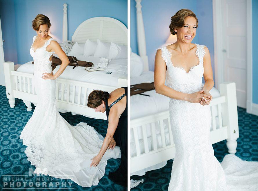 Ginger Zee S Wedding Gown