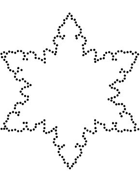 snowflake cutout patterns for kids free toy patterns snowflakes