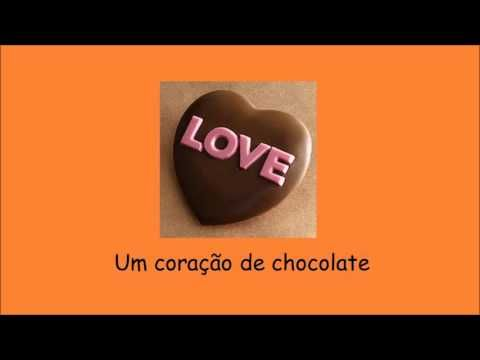Dia do pai - Coração de chocolate