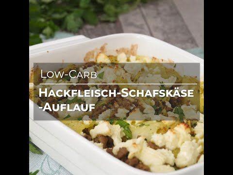 Hackfleisch-Schafskäse-Auflauf (Low-Carb Rezept) - YouTube