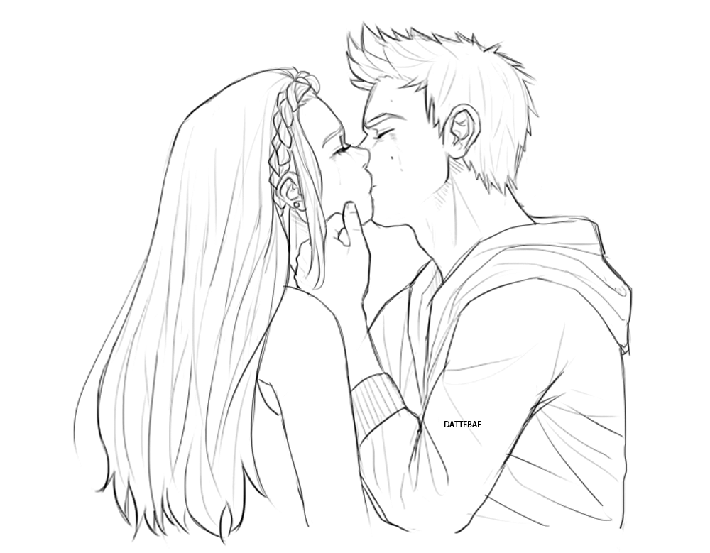 """dattebae: """"will color this later bUT SERIOUSLY I NEED A STYDIA KISS ..."""