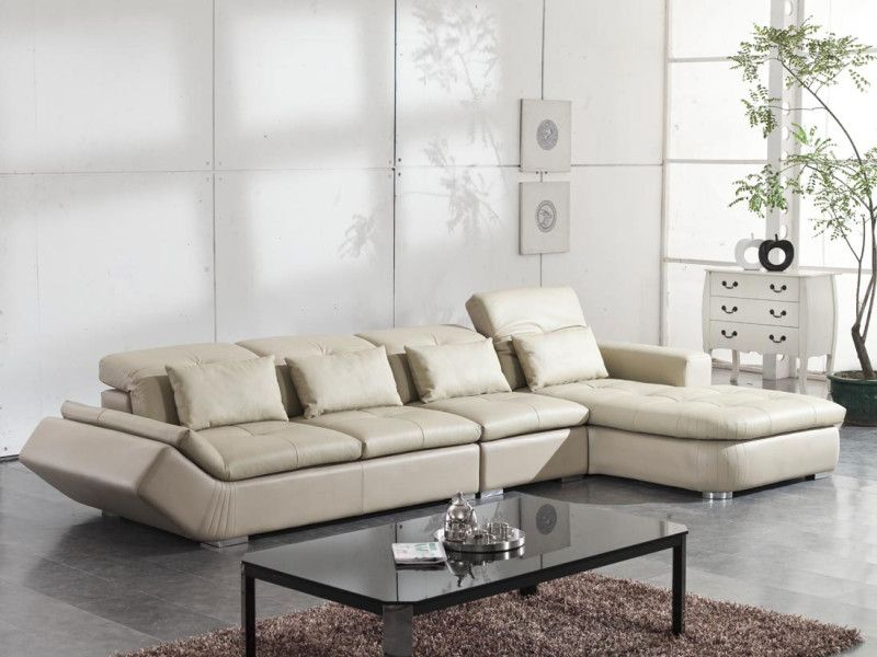 25 Best Small Living Room Decor And Design Ideas For 2019: L-shape Couch And Chaise Lounge Sofa