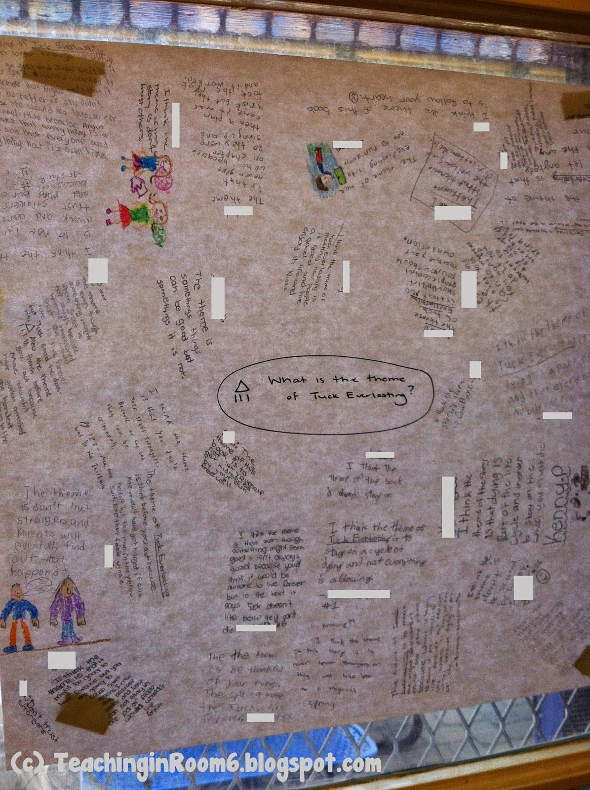 Graffiti wall reading - A Completed Graffiti Wall Response To Literature This Is A Great Way To Get The