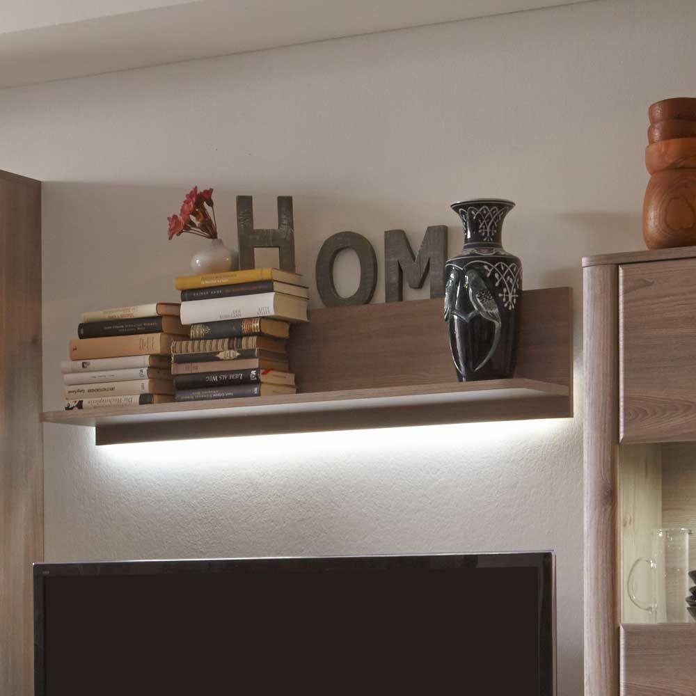 Wandboard Mit Beleuchtung | Wandboard In Eiche 110 Cm Led Beleuchtung Jetzt Bestellen Unter