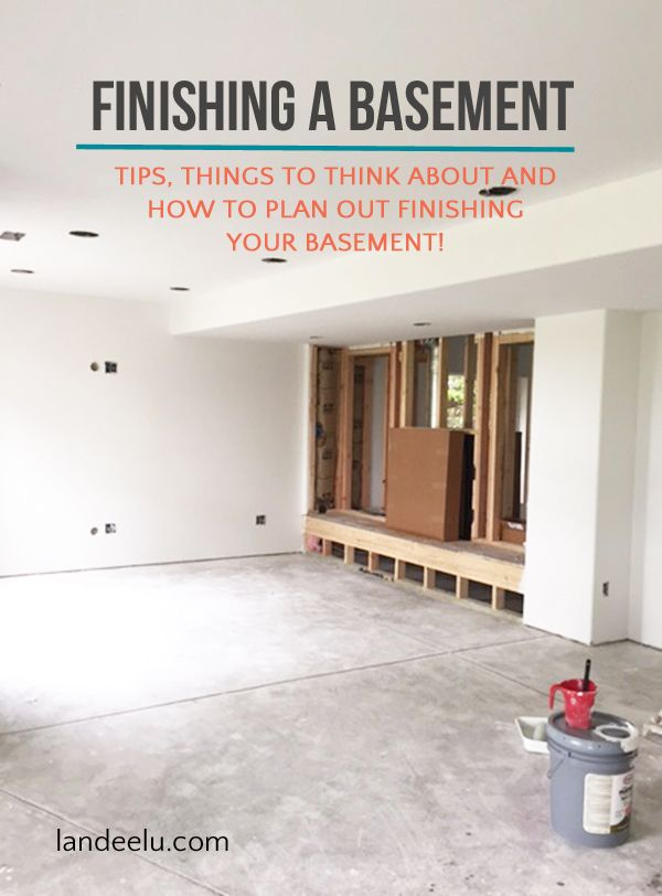 Finishing A Basement: Letu0027s Do This! | Landeelu.com Some Things To Think  About, How The Process Works And Great Tips On How To Get It Done!