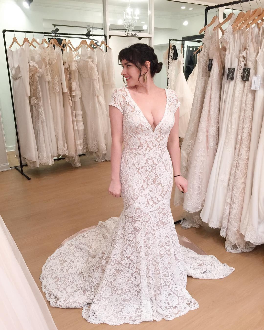 Short Sleeve V Neckline Wedding Dress Style 2233 Mikaella Bridal Wedding Dress Necklines Wedding Dress Styles Wedding Dresses [ 1350 x 1080 Pixel ]