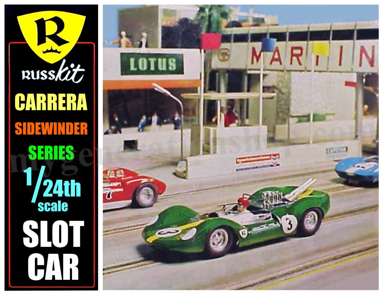 Russkit Carerra Slot Car Poster | Slot cars | Ho slot cars