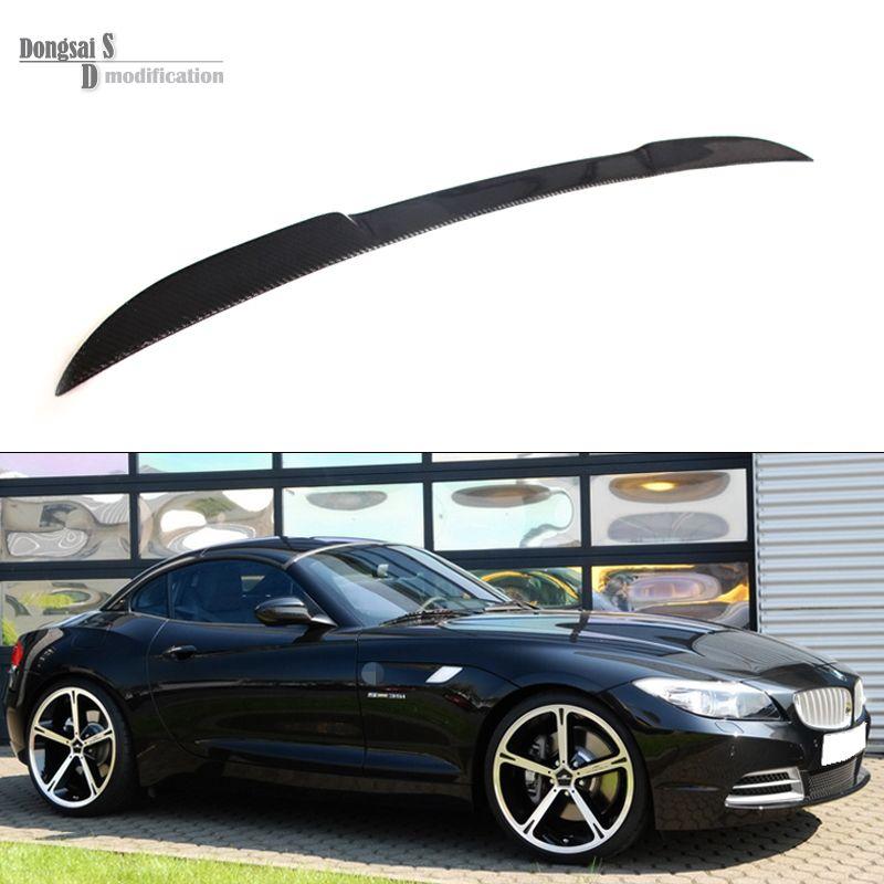 Z4 Series E89 Carbon Fiebr Rear Trunk Wings Spoiler For Bmw Z Series Z4 E89 2009 2014 Z4 Coupe 18i 20i 23i 28i 30i 35i Bmw Auto