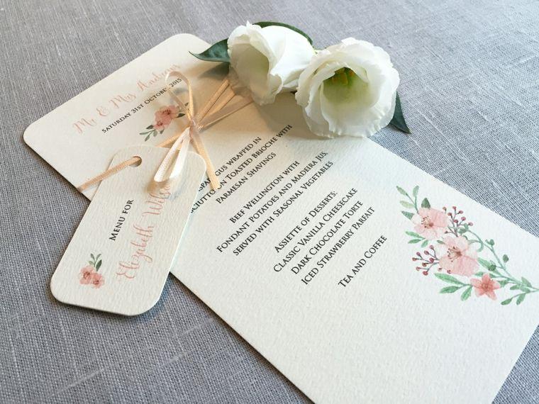 Menu Segnaposto Matrimonio.1001 Idee Per Segnaposto Matrimonio Spunti Da Copiare