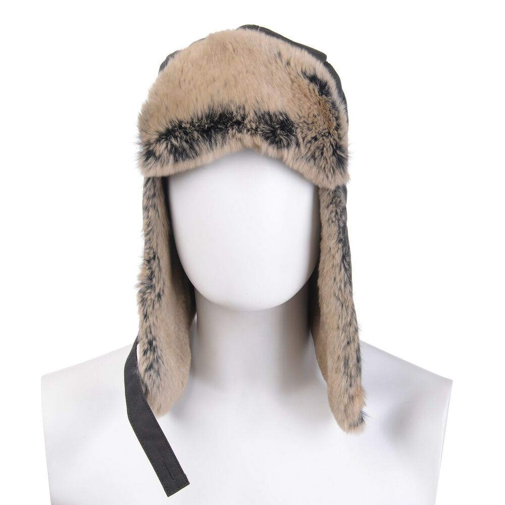 dbf5eb009e4bd WOOLRICH Trapper Hat Size M Rabbit Fur Details Teflon Fabric Protector  Padded  fashion  clothing  shoes  accessories  mensaccessories  hats (ebay  link)